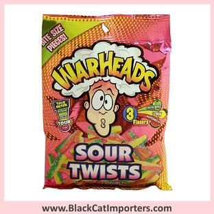 WarHeads Sour Twists / Peg Bag