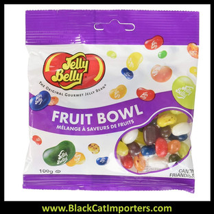 Jelly Belly 100g Fruit Bowl Mix 12ct / Case
