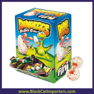 Fini Bubblegum Dino Eggs  200ct
