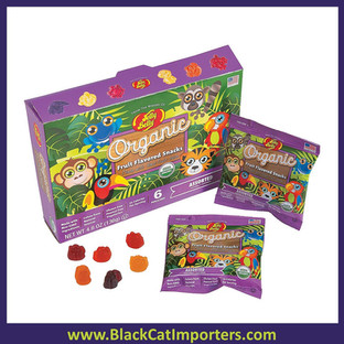 Jelly Belly Organic Assorted Fruit Snacks 12/6/22g