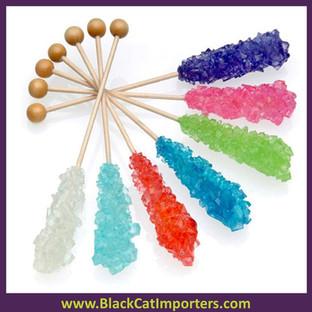"Richardson Crystal Rock Candy Asstd Flavor 5.75"" 72ct"