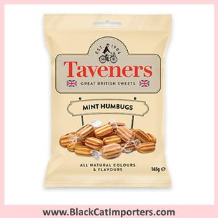 Taveners Bags Mint Humbugs 12x165g