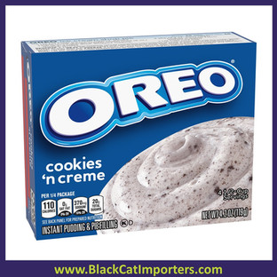 Jell-O Oreo Cookies 'n Creme Instant Pudding & Pie Filling Mix, 24/4.2 oz Box