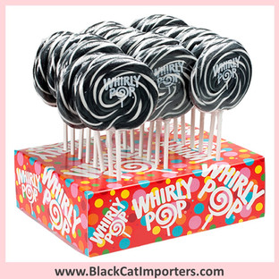 Whirly Pops / 1.5-Ounce/ Black