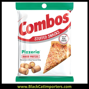 COMBOS Pizzeria Pretzel Baked Snacks, 6.3 Ounce Bag
