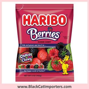Haribo Gummies / Berries / Peg Bag