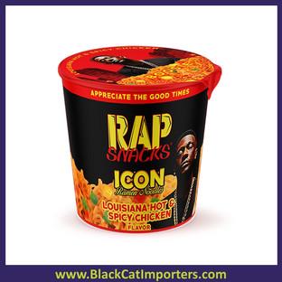 Rap Snacks Lil Boosie Louisiana Hot & Spicy Chicken Ramen  2.25oz 12ct