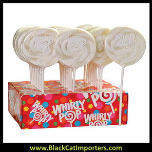 Whirly Pop Colors - White (Vanilla Flavor) 24-42.5g