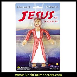 Jesus of Nazareth Bendable 4 Pcs/Pack