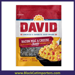 Davids Jumbo Sunflower Seeds Mac & Cheese 5.25oz 12ct