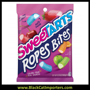 Wonka Sweetart Rope Bites Peg Bag 12ct 5.25oz