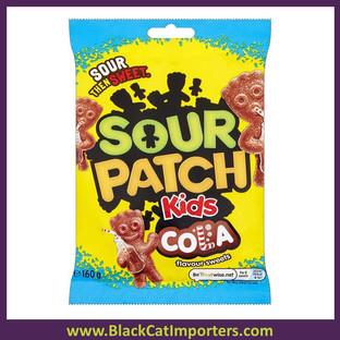 Sour Patch Kids Cola Peg Bag 10/160g