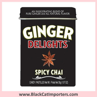 Ginger Delights Hard Candies | Spicy Chai