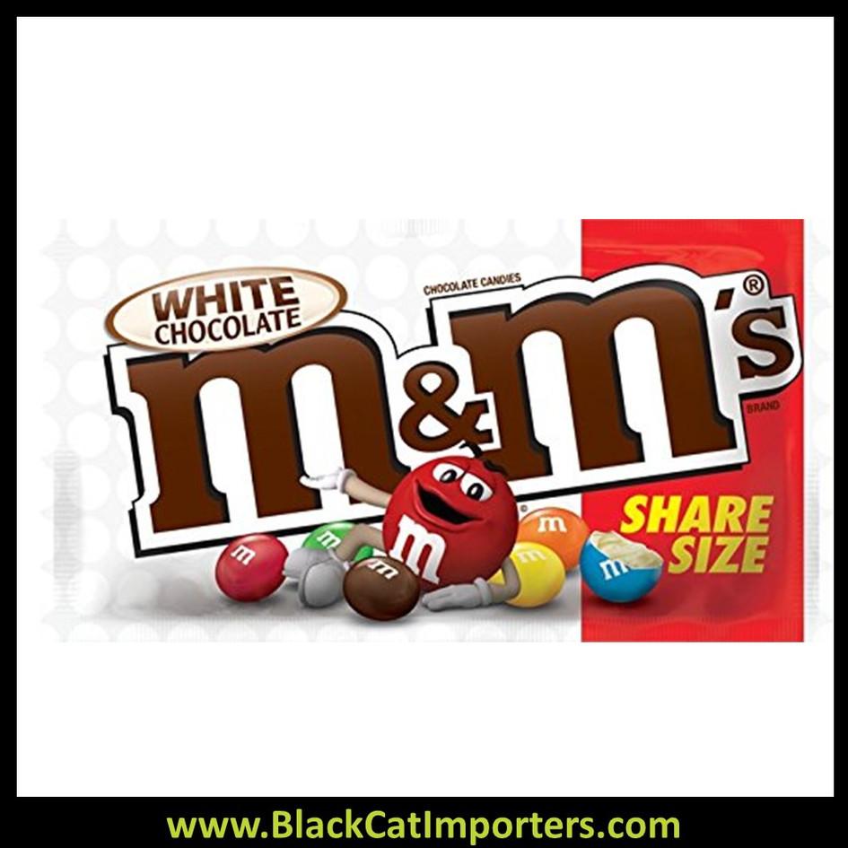 M&M's Share Size White Chocolate 2.47oz 24ct