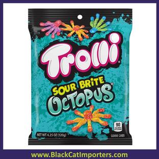 Trolli Sour Brite Peg Octopus 12ct 4.25oz