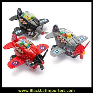 Shark Attack Candy Filled Plane 12 / Box