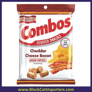 Combos - Cheddar Cheese Bacon Pretzel 12ct 6.3oz.