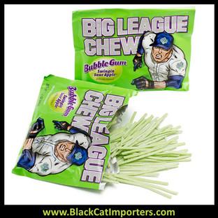 Big League Chew Bubble Gum / Sour Apple