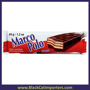 Marco Polo Wafer Cocoa Chocolate Bar 20ct