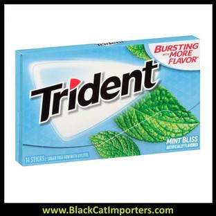 Trident Super Pack Sugar Free Gum Mint Bliss 12-Pack