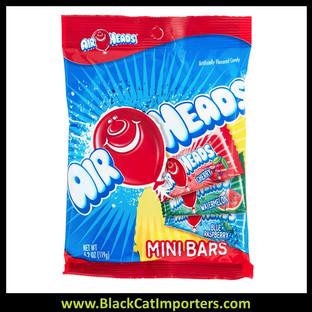 AirHeads Mini Bars Peg Bag 4.2oz 1/12ct