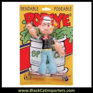 "Popeye 6.5"" Bendable 3 Pcs/Pack"