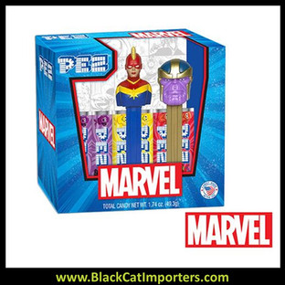 Pez Twin Pack Gift Set - Marvel Twin Pack (Black Panther & Ant-Man)12ct