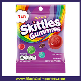Skittles Peg Bag Gummies Wild Berry 5.8oz 12ct