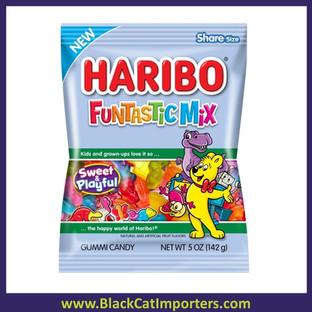 Haribo Peg Bag Funtastic Mix 5oz 12ct