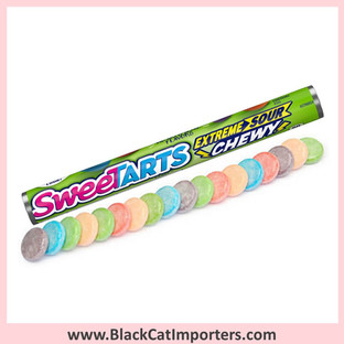 Wonka SweeTarts Shockers Chewy / Sours Candy Rolls