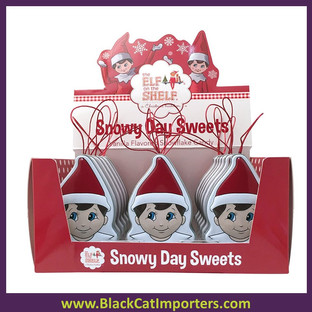Boston American Christmas Elf the Shelf Snowy Day Sweets Candy Tins 18ct 0.8oz