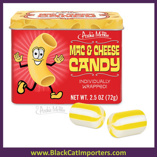 Archie McPhee - Mac & Cheese Candy 6ct