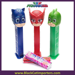 Pez Blister Packs - PJ Masks Assortment 12ct Display