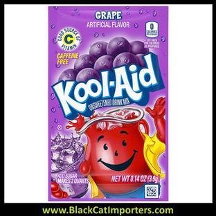 Kool-Aid Unsweetened 2QT Grape Flavored Drink Mix, 48Unit