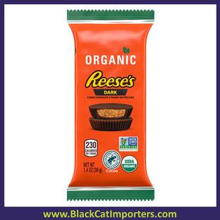 Reese's Organic Dark Peanut Butter Cup Bar 1.4oz 12ct