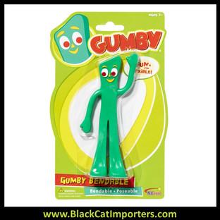 "Gumby Bendables 6"" 4Pcs / Pack"