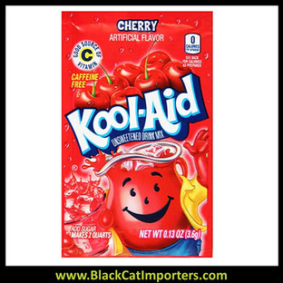 Kool-Aid Unsweetened 2QT Cherry Flavored Drink Mix, 48Unit