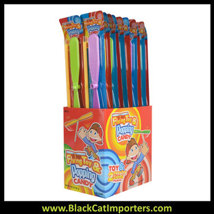 Flying Toy & Popping Candy 20ct.