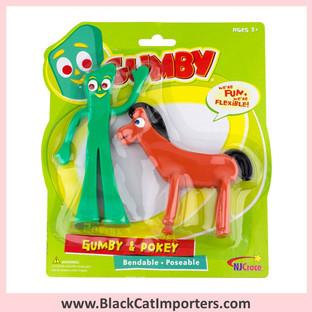"Gumby & Pokey 6"" Pair 3Pcs / Pack"