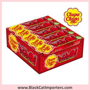 Chupa Chups Big Babol Chewing Gum Strawberry