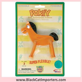 """Retro Pokey Bendable 5"""" 4Pcs / Pack"""