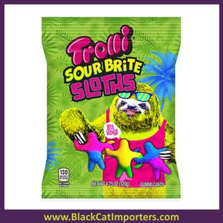 Trolli Peg Sour Brite Sloths 12ct
