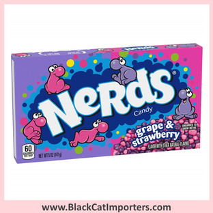 Wonka Nerds Grape & Strawberry Theater Box 12ct