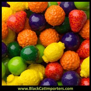 Bulk Dubble Bubble Seedlings Candy Filled Gumballs 5lbs Bag