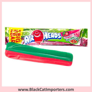 AirHeads 2-in-1 Big Bar Candy / Strawberry & Watermelon