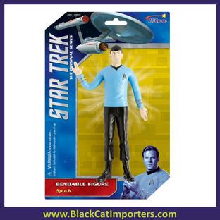 """Star Trek - Spock 6"""" Bendable  4Pcs / Pack"""