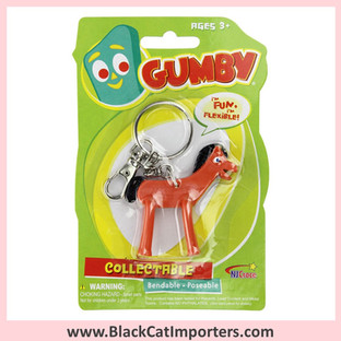 Pokey 3in Bendable Keychain 4 Pcs / Pack