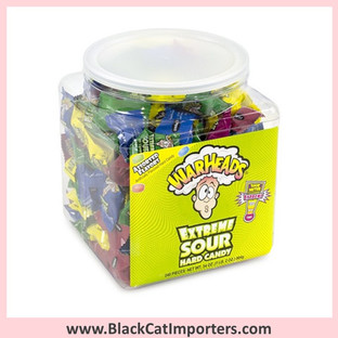 WarHeads Extreme Sour Hard Candy Tubs