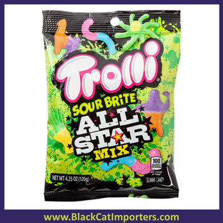 Trolli Sour Brite All Star Mix 4.25oz 1/12ct