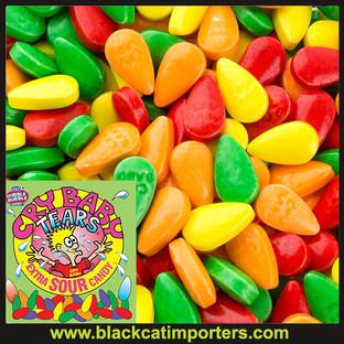 Cry Baby Tears Sour Candy Bulk 5lbs/Bag